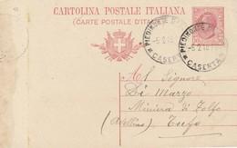 Piedimonte D'Alife. 1918.  Annullo Guller PIEDIMONTE D'ALIFE *CASERTA*, Su Cartolina Postale - Storia Postale