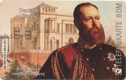 Télécarte Allemagne : Roi Karl I De Württemberg - Postzegels & Munten