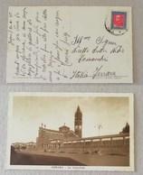 """Cartolina Illustrata """"Asmara-La Cattedrale"""" Per Comacchio - 21/10/1936 - Eritrea"""