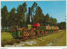 AK  Eisenbahn Erster Personenzug Charleston South Carolina - Treni