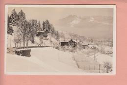 OUDE FOTO POSTKAART - ZWITSERLAND - SCHWEIZ -  SUISSE -  ED. KUNZ - VILLARS S./BEX  1933 - VD Vaud