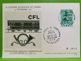 26e Journée Nationale Du Timbre 1967. CFL - Ganzsachen