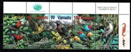 Vanuatu 2001 Birds Corner Strip Of 5 Mint No Gum - Vanuatu (1980-...)