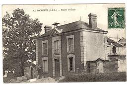 LANGEAIS (37) - LA ROCHOUZE - Mairie Et Ecole - Langeais