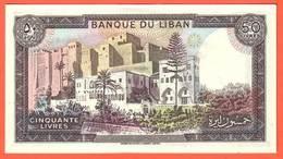LIBAN - 50 Livres De 1988 - Pick 65d - Liban