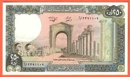 LIBAN - 250 Livres De 1988 - Pick 67d - Liban