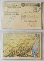 """Cartolina Postale Per Le Forze Armate, Carte Geografiche """"Sudan"""" P.M.202 (17) Per Bolzano 31/12/1940 - Correo Militar (PM)"""
