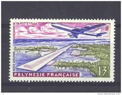 Polynésie  -  Avion  -  1960  :  Yv  5  * - Poste Aérienne