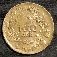 BRESIL - 1000 REIS 1927 - KM 525 - Brésil