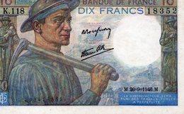 M 26 9 1946 -- K 118 18352 - 1871-1952 Antiguos Francos Circulantes En El XX Siglo