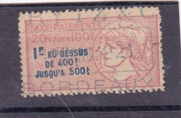 T.F. Taxes Sur Les Paiements N°5A - Revenue Stamps