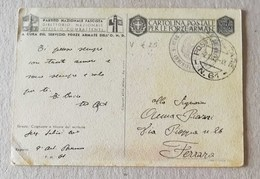 Cartolina Postale Per Le Forze Armate P.M. 61 (Grecia) Per Ferrara - 02/10/1942 - Correo Militar (PM)
