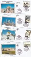 Lot De 4 Premiers Jours  Capitale Vienne 2014 - FDC