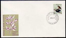 PAPUA NEW GUINEA, 1964  6d BIRD FDC - Papua New Guinea