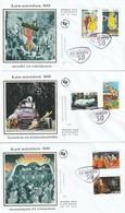 Lot De 3 Premiers Jours Les Années 50, 2014 - FDC