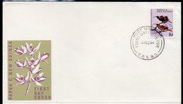 PAPUA NEW GUINEA, 1964 8d BIRD FDC - Papouasie-Nouvelle-Guinée