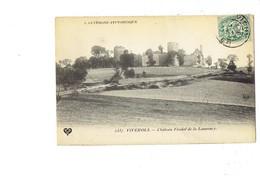 Cpa - 63 -  VIVEROLS - Château Féodal De La Laurency - 2337 VDC - Tour - 1907 - France