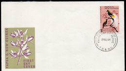 PAPUA NEW GUINEA, 1964 1/- BIRD FDC - Papua New Guinea