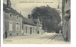 CPA 251 - Seine Et Marne - Donnemarie En Montois Dontilly - La Route De Nangis - Donnemarie Dontilly
