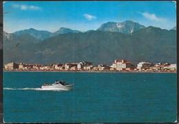 VIAREGGIO - VISTA PANORAMICA DAL MARE - VIAGGIATA 1987 - Viareggio