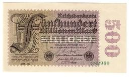 GERMANY500000000MARK01/09/1923P110UNCWmk EGD - 110D.CV. - [ 3] 1918-1933: Weimarrepubliek