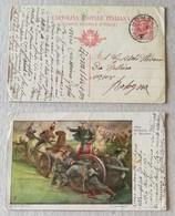Cartolina Postale Italiana Da Homs (Tripolitania) Per Bologna - 15/01/1913 - Postwaardestukken