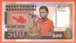 MADAGASCAR - 500 Francs / 100 Ariary  De 1993 - Pick 71 - Madagascar