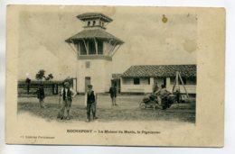 17 ROCHEFORT Sur MER La Maison Du Marin Paysans Au Travail Pelles Et Brouette Pres Du Pigeonnier 1910    /D03-2017 - Rochefort