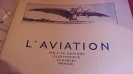 1938   MARCEL JEANJEAN / DE MONTGON L AVIATION - AeroAirplanes