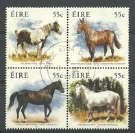Ireland 2011 The Irish Horse 4-block Y.T. 1990/1993 (0) - 1949-... République D'Irlande