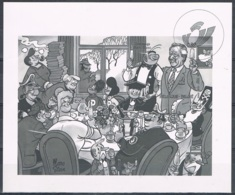 Année 2003 COB GCA8** (BL100) - Belgica 2001 - Cote 5,00€ - Feuillets Noir & Blanc