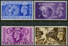 Great Britain 1948. Michel #237/40 MNH/Luxe. Summer Olympics. London-1948 (Ts22/04) - Summer 1948: London