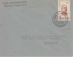 N° 315 (Madagascar) Obl. St Paul Et Amsterdam 31 DEC 49, Courrier Du Sapmer + Ile Amsterdam Mission 1949-1950 - Franse Zuidelijke En Antarctische Gebieden (TAAF)