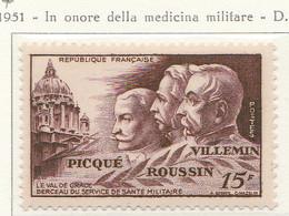 PIA - FRA - 1951 : In Onore Della Medicina Militare  - (Yv  896) - Francia