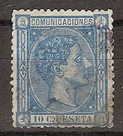 España U 0164 (o) Alfonso XII. 1875. - Gebraucht