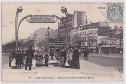 PARIS XXe - Le Métropolitain - Station Du Père-Lachaise - Omnibus - Distrito: 20