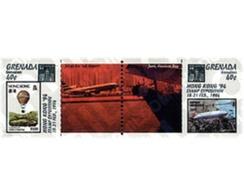 Ref. 6219 * MNH * - GRENADA GRENADINES. 1994. HONG KONG 94. INTERNATIONAL PHILATELIC EXHIBITION . HONG KONG 94. EXPOSICI - Stamps On Stamps
