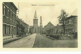 Ramsel. - Statiestraat En Kerk - Herselt