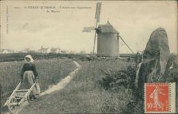 56 SAINT PIERRE QUIBERON / L'entree Aux Alignements Du Moulin / - France