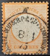 DEUTSCHES REICH 1872 - Canceled - Mi 18 - 1/2g - Grosses Brustschild - Alemania