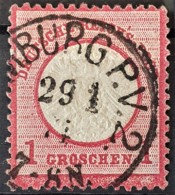 DEUTSCHES REICH 1872 - Canceled - Mi 19 - 1g - Grosses Brustschild - Gebruikt
