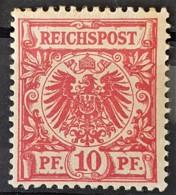 DEUTSCHES REICH 1889 - MLH - Mi 47 - 10pf - Deutschland