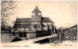 08 JUNIVILLE - L'église - Altri Comuni