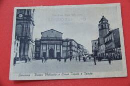 Chieti Lanciano Piazza Plebiscito 1953 + Affrancatura Coppia Forze Armate - Chieti