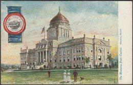 State Capitol, Helena, Montana, C.1905-10 - Tuck's Oilette Postcard - Helena