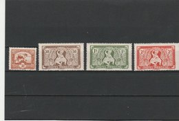 INDOCHINE TIMBRES**LUXE N° 232/235 COTE : 8.50 EURO - Neufs