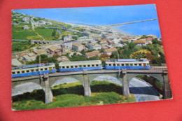 Chieti S. Vito Lanciano Veduta Aerea Con Treno Train 1963 - Chieti