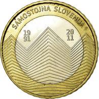 Monnaie, Slovénie, 3 Euro, 2011, TTB, Bi-Metallic, KM:101 - Slovénie