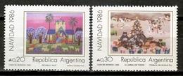 Argentina 1986 / Christmas MNH Nöel Navidad Weihnachten / Cu16416  18-43 - Noël