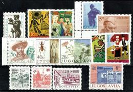 Yugoslavia 9 Series En Nuevo - Collections, Lots & Séries
